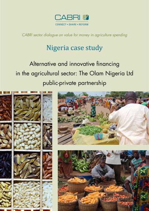 Report 2014 Cabri Value For Money Agriculture 3Rd Dialogue English Nigeria Case Study Engl