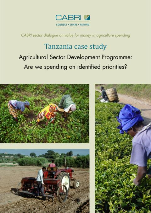 Report 2014 Cabri Value For Money Agriculture 3Rd Dialogue English Tanzania Case Study Engl