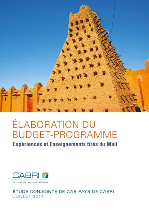 Report 2014 Cabri Capable Finance Ministries Budget Practices And Reforms French Cabri Mali Pbb Fre Web