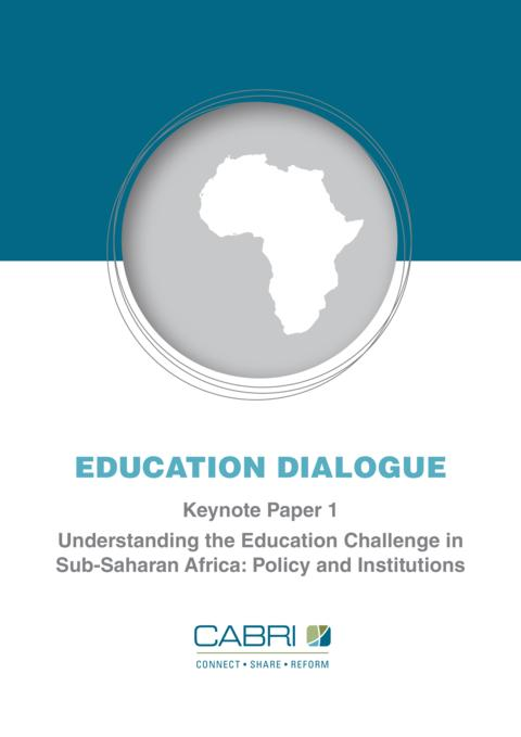 Report 2012 Cabri Value For Money Education 1St Dialogue English Cabri Understanding The Education Challenge