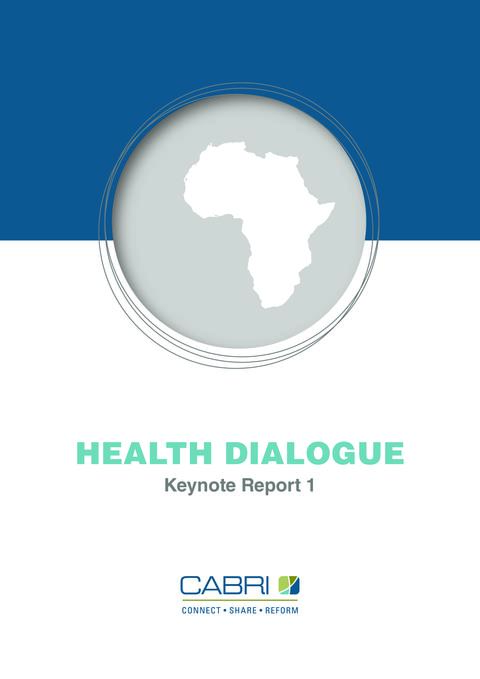 Report 2011 Cabri Value For Money Health 1St Dialogue English The Health Challenge In Africa And Its Institutional Context