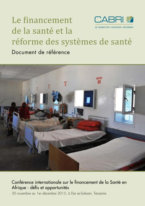 Seminar Paper 2015 Cabri Value For Money Health French 3 1Cabri Financing Health Care And Health Systems Reform French
