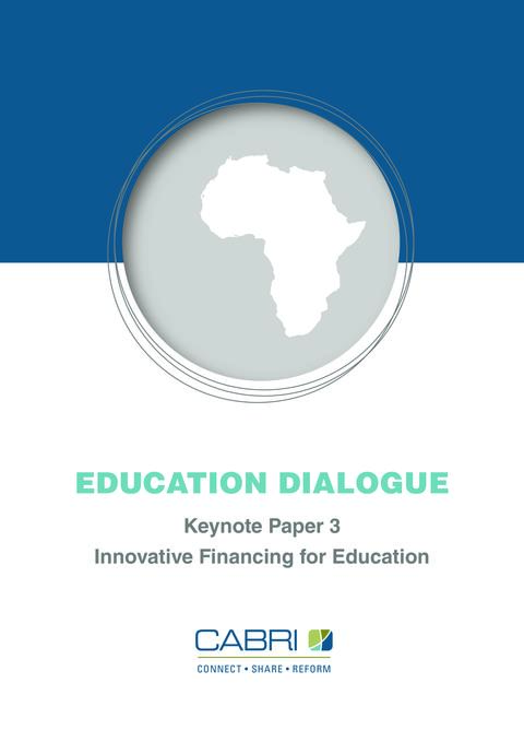Report 2012 Cabri Value For Money Education 1St Dialogue English Cabri Innovative Financing