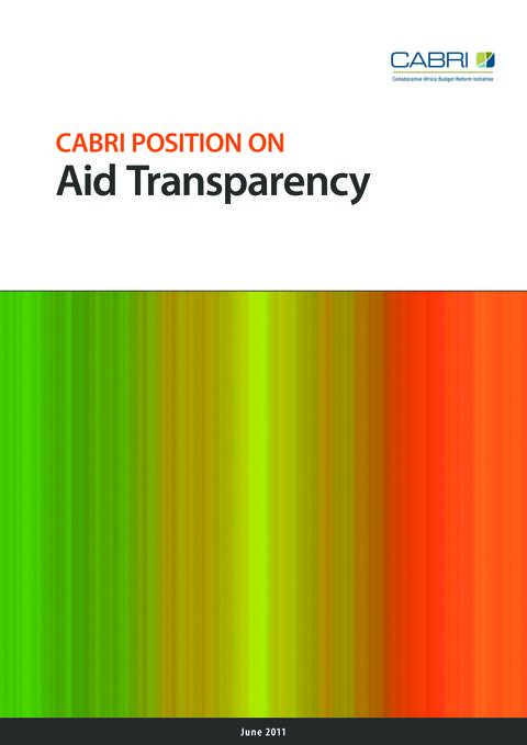 Policy Brief 2011 Cabri Transparency And Accountability Use Of Country Systems English 2011 Brief Cabri Position On Aid Transparency