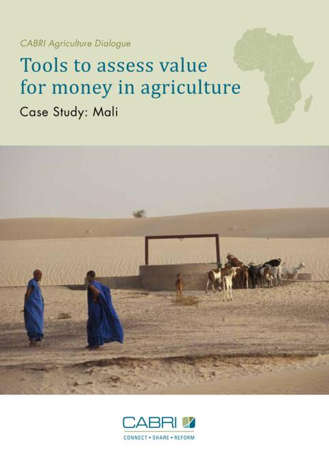 Report 2014 Cabri Value For Money Agriculture 2Nd Dialogue English Cabri Case Study Mali 2014