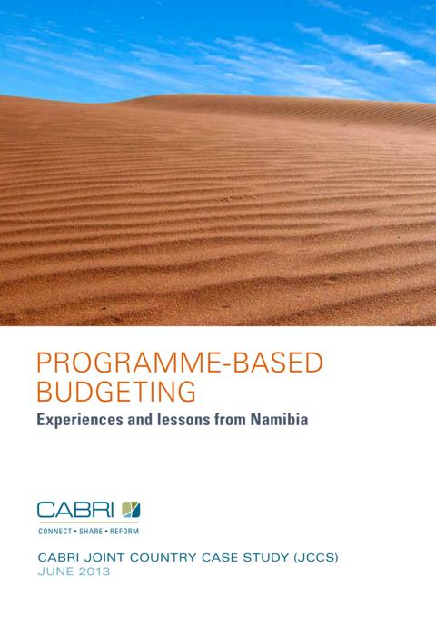 Report 2013 Cabri Capable Finance Ministries Budget Practices And Reforms English Cabri Budget Practices And Reforms   Namibia