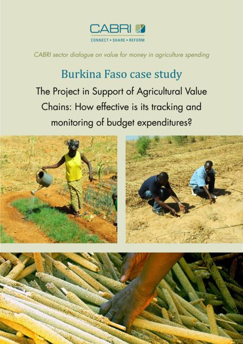 Report 2014 Cabri Value For Money Agriculture 3Rd Dialogue English Burkina Faso Case Study Engl