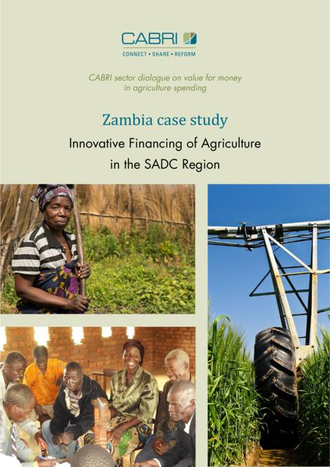 Report 2014 Cabri Value For Money Agriculture 3Rd Dialogue English Zambia Case Study