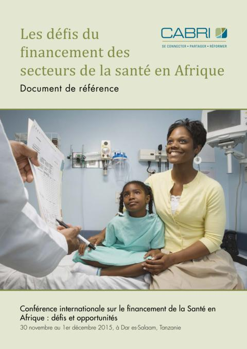Seminar Paper 2015 Cabri Value For Money Health French 1 1Cabri Challenges In Financing Health Sectors In Africa French