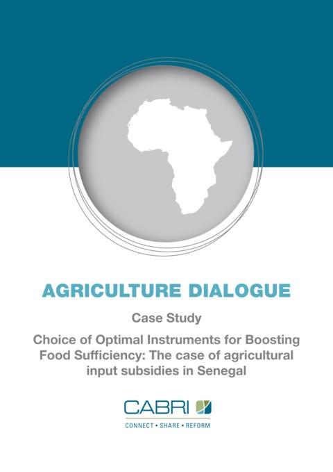 Report 2013 Cabri Value For Money Agriculture 1St Dialogue English Senegal Case Study Agriculture