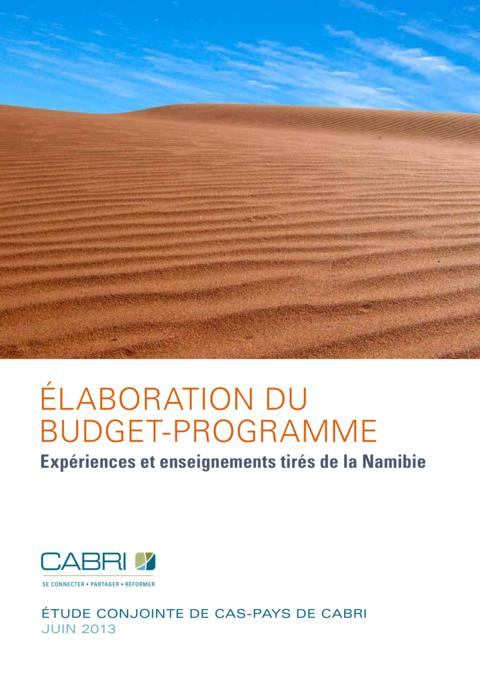 Report 2013 Cabri Capable Finance Ministries Budget Practices And Reforms French Cabri Elaboration Du Budget Programme  Namibie