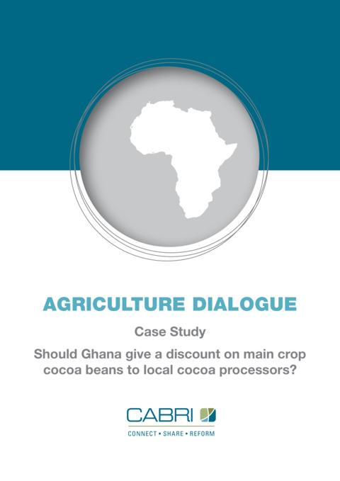 Report 2013 Cabri Value For Money Agriculture 1St Dialogue English Ghana Case Study Agriculture