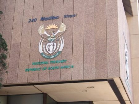 Treasury Pretoria Signage Madiba Street Tshwane Large 555X373