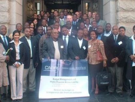Images Events Budget Management And Public Financial Accountability Training Workshop And Study Tour To South Africa